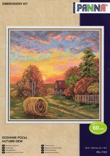 """""""Autumn Dew"""" Counted Cross Stitch Kit"""