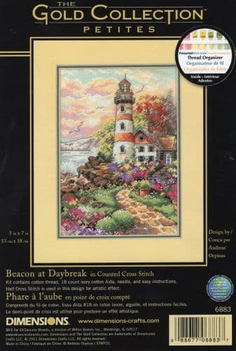 """""""Beacon at Daybreak"""" Counted Cross Stitch Kit"""