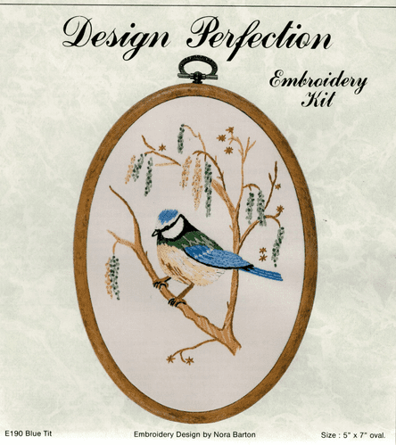 """""""Blue Tit"""" Freestyle Embroidery Kit"""