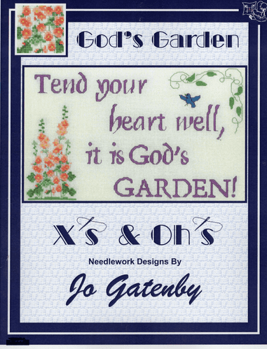 """""""God's Garden"""" Counted Cross Stitch Chart Booklet"""