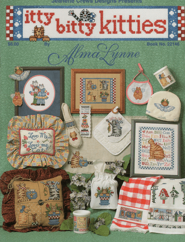 """Itty Bitty Kitties"" Counted Cross Stitch Chart Booklet"