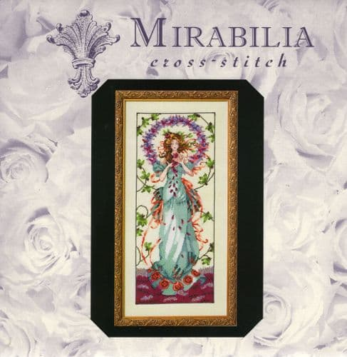 """MD146 Blossom Goddess"" Counted Cross Stitch Chart"