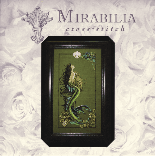 """MD95 Mermaid of Atlantis"" Counted Cross Stitch Chart Pack from Mirabilia"