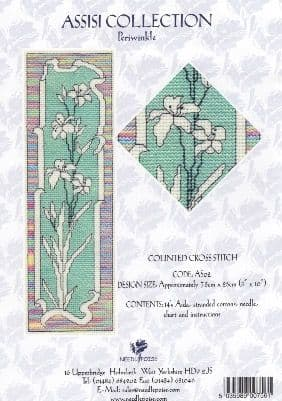 """Periwinkle"" Counted Cross Stitch Kit"