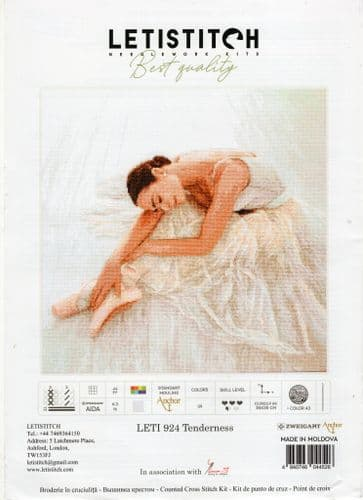 """""""Tenderness"""" Counted Cross Stitch Kit by Letistitch"""
