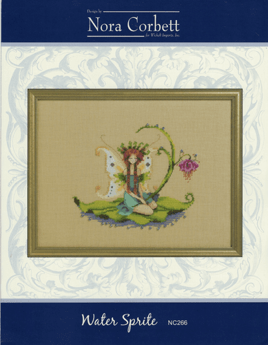 """Water Sprite"" Counted Cross Stitch Chart Pack by Nora Corbett"