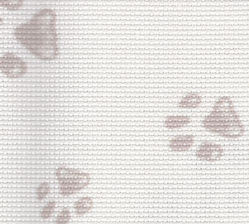 "14 Count Aida ""Pawprints"" from Fabric Flair"