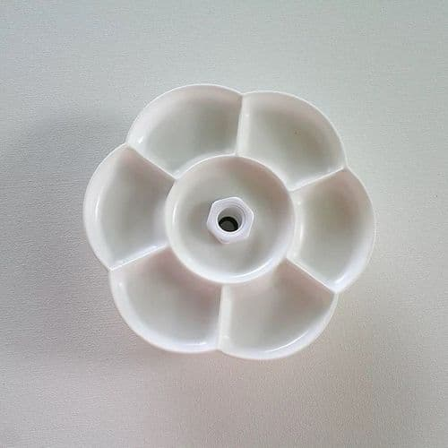 Centre mounting Daisy Dish for the Lowery Silver Grey Workstand