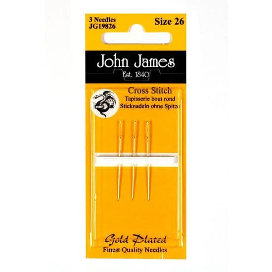 Gold Plated Tapestry/Cross Stitch Needle