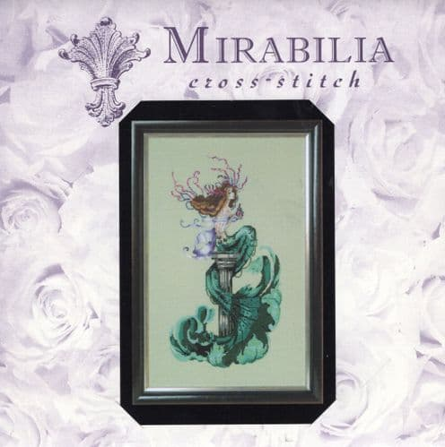 MD173 Mermaid Perfume Counted Cross Stitch Chart Pack