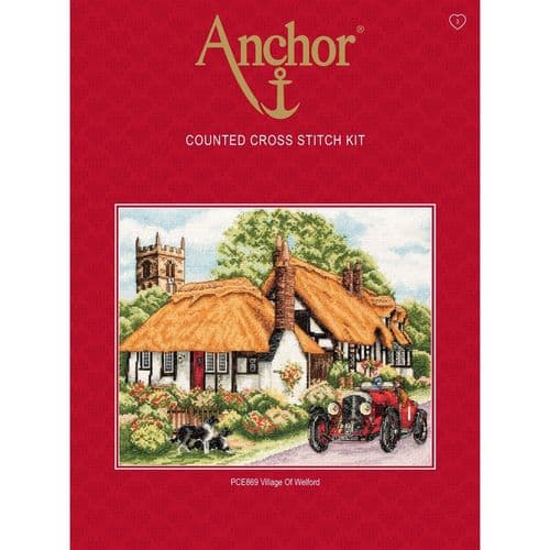 Village of Welford Counted Cross Stitch Kit