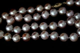 10mm Luxury Pink Freshwater Cultured Pearl Necklace