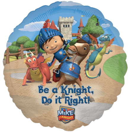 """18"""" Mike the Knight Be A Knight Foil Balloon"""