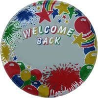 """18"""" Welcome Back - Personalised"""