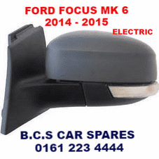 FORD FOCUS  2014 - 2015  DOOR MIRROR     PASSENGER  SIDE   ELECTRIC  NEW  NEW
