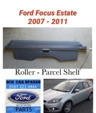 FORD FOCUS  MK 4   ESTATE    PARCEL SHELF  / BLIND  GREY     08 - 09 - 10  - 11   REG