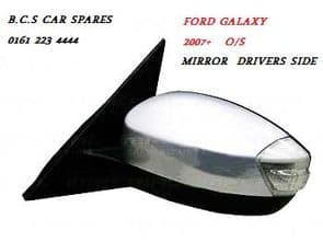 FORD GALAXY MIRROR N/S PASSENGER SIDE 2007 2008 2009 NEW