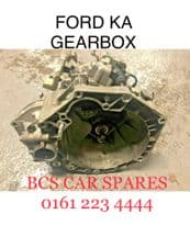FORD  KA  GEARBOX   1.2  Petrol     5 Speed   Fully Tested