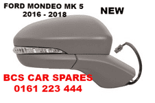 FORD MONDEO MK 5  DOOR MIRROR  ELECTRIC  O/S  DRIVER   SIDE   POWER FOLD TYPE  2016  2017  2018