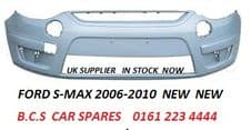 FORD  S-MAX FRONT BUMPER  2007   READY TO PAINT