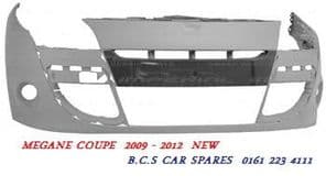 RENAULT MEGANE COUPE  FRONT BUMPER  NEW  2009  2010  2011  2012
