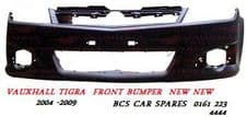 VAUXHAAL TIGRA FRONT BUMPER  NEW     2004 - 2009     ( INSURANCE APPROVED )