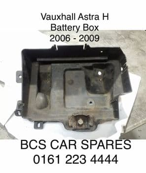 VAUXHALL ASTRA H   MK 5   BATTERY. TRAY.    2006 -  2007 - 2008 CONDITION