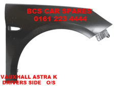 VAUXHALL  ASTRA  K  DRIVERS SIDE   WING  O/S  NEW  NEW  2016  2017 (1)