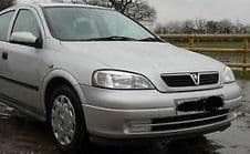 VAUXHALL ASTRA  MK 4 FRONT BUMPER SILVER  2000 - 2004