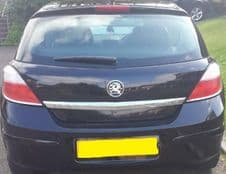 VAUXHALL ASTRA MK 5 H  REAR TAILGATE IN BLACK  INC GLASS