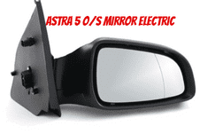 VAUXHALL ASTRA MK 5 MIRROR  DRIVERS  SIDE O/S  2005 - 2009 ELECTRIC (2)