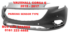 VAUXHALL CORSA  E   FRONT BUMPER  PARKING SENSOR TYPE  NEW   2015  2016  2017      NEW