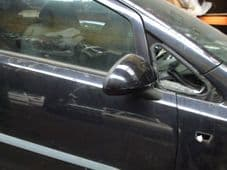 VAUXHALL CORSA MK 3 D MIRROR  DRIVERS SIDE   BLACK ELECTRIC   2007 - 2008 - 2009 - 2010   USED