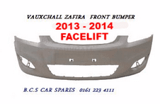 VAUXHALL ZAFIRA B  FRONT BUMPER   2013  2014   FACELIFT  ( NOT TOURER )   NEW  NEW   ( IN PRIMER )