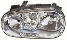 VW GOLF HEADLIGHT    N/S  PASSENGER SIDE  2002 - 2003   NEW  NEW