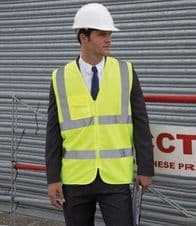 RS202 Result Core Zip Safety Tabard