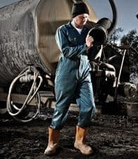 WD001 Dickies Redhawk Zip Front Coverall