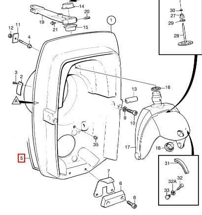 Volvo Penta 852868 Sealing Strip for TransomShield and
