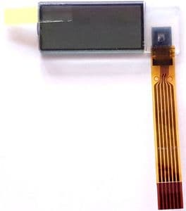 Yanmar Tachometer hour meter LCD Replacement Screen for 164100-50100 and  129271-91210