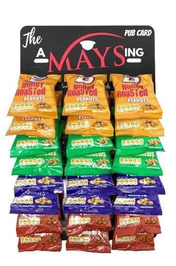 Big D 24 Pack Mixed Nuts AMaysing Pub Card Salted | Cashews | Dry Roasted | Honey