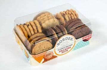 Border Sharing Biscuits Cookies 6 Assorted Varieties - Case of 4 x 400g Packs