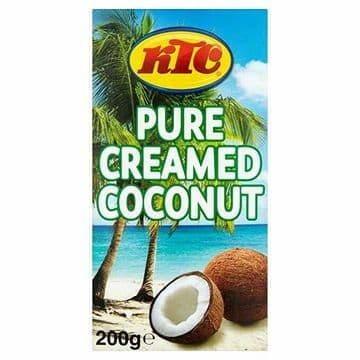 KTC Pure Creamed Coconut 200g