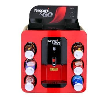 Nescafe & and Go Coffee Vending Machine - Incup Hot Drinks & Beverages Dispenser