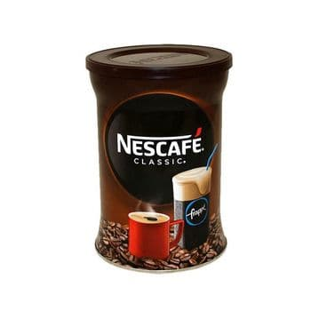 Nescafe Classic/Frappe Greek Coffee Resealable Tin from Greece - 200g