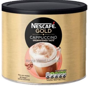 Nescafe Gold Cappuccino Coffee 1kg Catering Tin Bulk Buy Unsweetened Taste