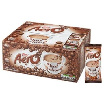 Nestlé Aero Bubbly Hot Chocolate Instant Drink 40 x 24g Stick Sachets