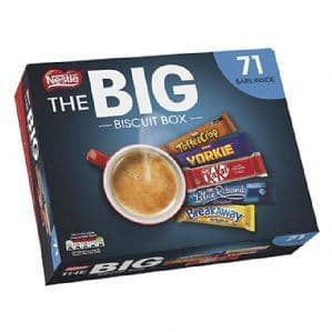 Nestle Big Biscuit Box (71 Bars)