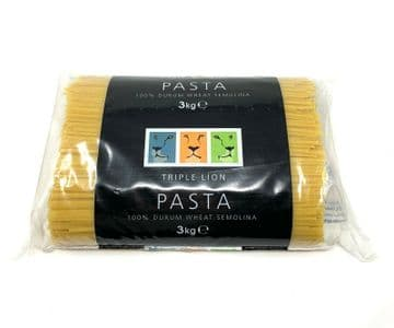 Triple Lion Professional Chef's Linguine 100% Durum Wheat Semolina Pasta 3kg