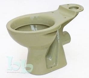 Avocado Toilet Pan (WC) Close-Coupled