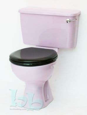 Lilac/Orchid Toilet Pan and Cistern Close-Coupled